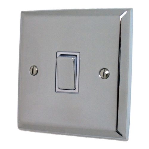 G&H SC201 Spectrum Plate Polished Chrome 1 Gang 1 or 2 Way Rocker Light Switch